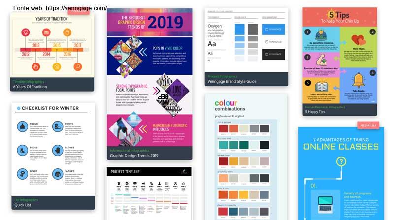 infografica online per social e blog aziendale