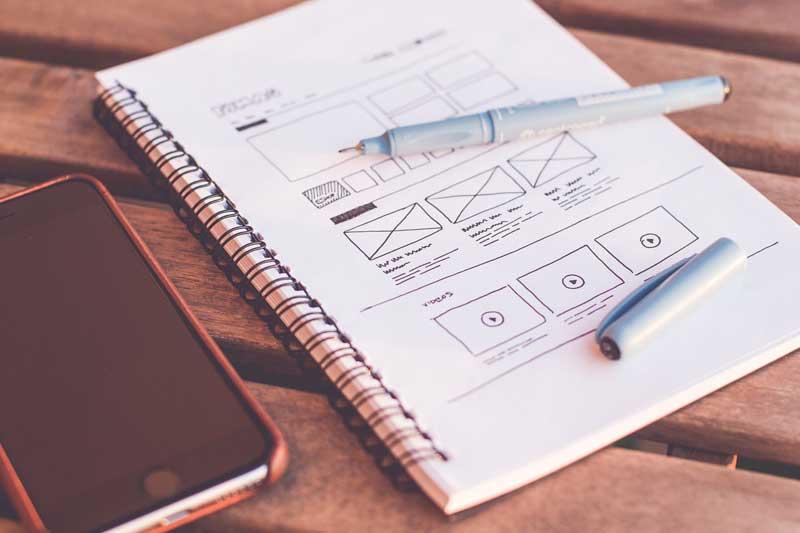 web desgin HTML e CSS