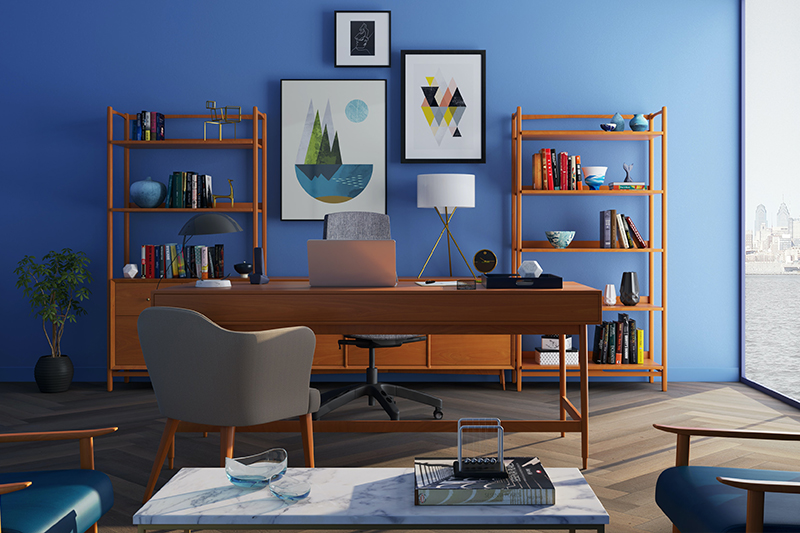 interior designer scrivania