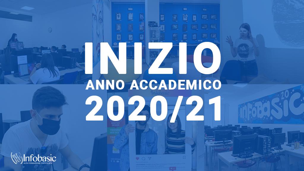 Inizio Anno Accademico 2020/2021