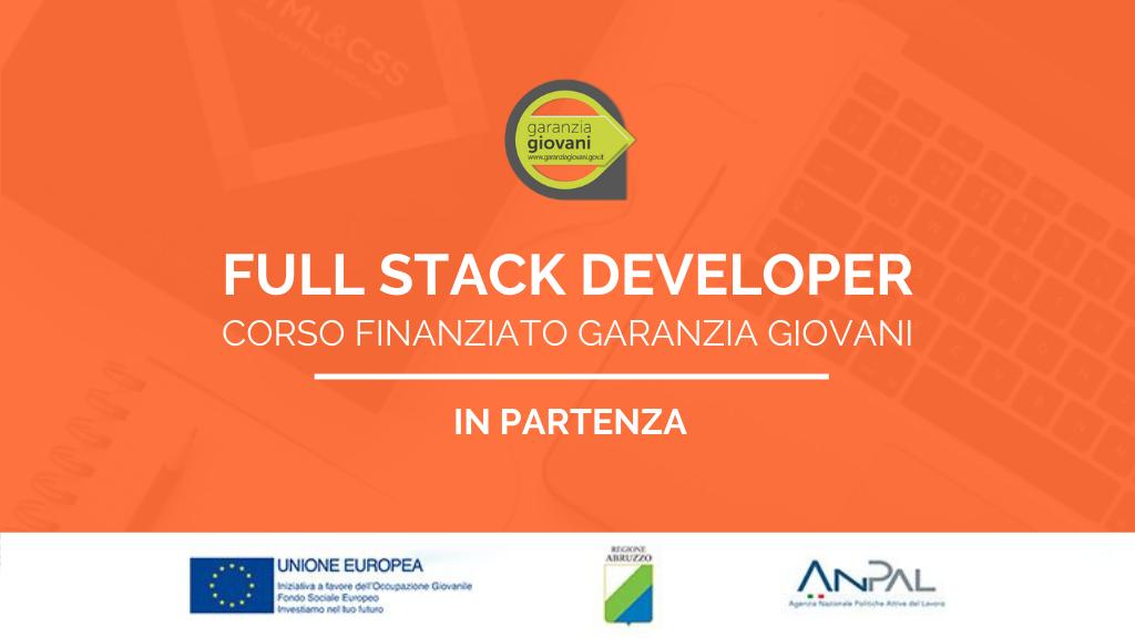 Corso finanziato Garanzia Giovani di Full Stack Developer in partenza