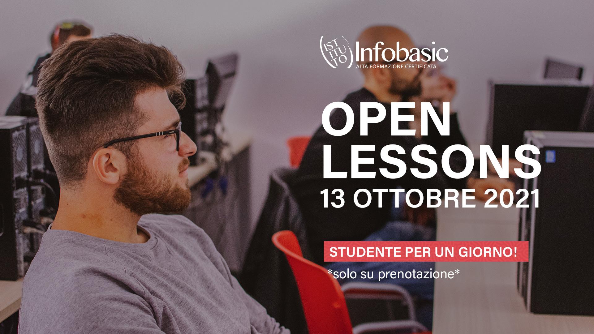 Open Lessons 13 Ottobre 2021