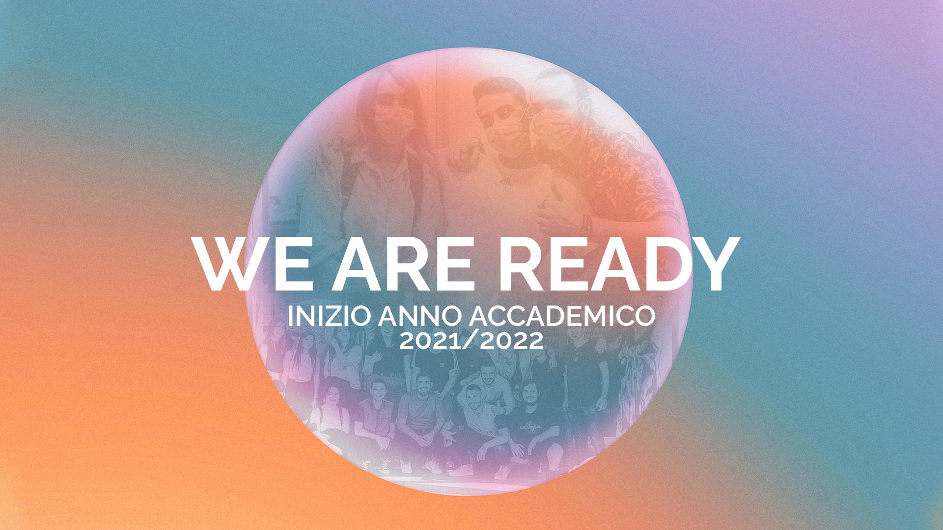 Inizio Anno Accademico 2021/2022